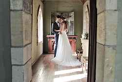 Historic Wedding Venues Eltham - Montsalvat at Real Weddings