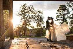 Elegant Outdoor Weddings - Montsalvat at Real Weddings