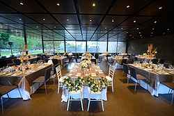 Perfect Indoor Wedding Reception - NGV at Real Weddings