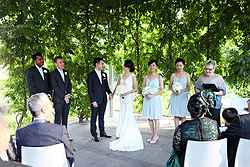 Outdoor Wedding Ceremony Venues - NGV at Real Weddings