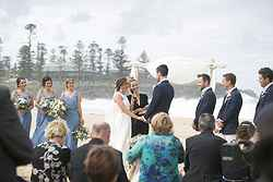 Beachfront Wedding Ceremony - The Pavilion Kiama at Real Weddings