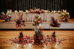 Elegant Flower Setup - The Pavilion Kiama at Real Weddings