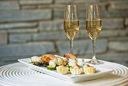 Great Food and Wine for Wedding - Pullman Bunker Bay at Real Weddings