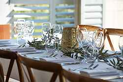 Table Setting for Wedding - Pullman Bunker Bay at Real Weddings