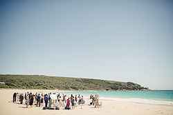 Beach Wedding Ceremony - Pullman Bunker Bay at Real Weddings