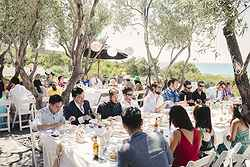 Outdoor Wedding Reception - Pullman Bunker Bay at Real Weddings