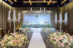 Wedding Reception Venue Bangkok at Pullman Hotel - Real Weddings