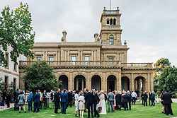 Perfect Garden Wedding Venue - The Refectory at Real Weddings