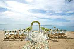 Beach Wedding Ceremony - SALA Phuket Resort at Real Weddings