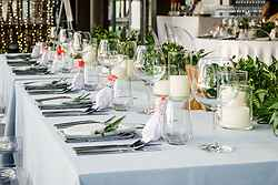 Wedding Reception Setup - SALA Phuket Resort at Real Weddings
