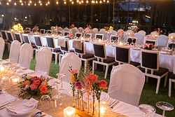 Garden Wedding Reception Venue - SALA Phuket Resort at Real Weddings