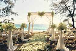 Perfect Garden Wedding Ceremonies - SALA Phuket Resort at Real Weddings