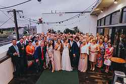Rooftop Weddings Melbourne - True South at Real Weddings