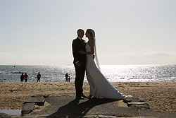 Beach Weddings Melbourne - True South at Real Weddings