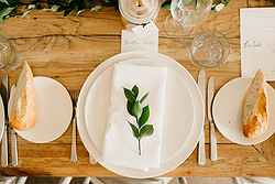 wedding table styling at watsons bay