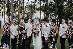 Garden Wedding Ceremony - Bawley Bush Retreat at Real Weddings