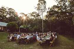 Perfect Garden Wedding Venue - Bawley Bush Retreat at Real Weddings