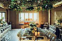 Indoor Wedding Reception Venue - Bawley Bush Retreat at Real Weddings