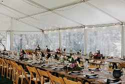 Elegant Indoor Wedding Venue - Bawley Bush Retreat at Real Weddings