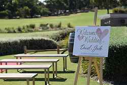 Outdoor Wedding Ceremony Venue VIC - Woodlands Golf Club at Real Weddings