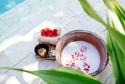 Complimentary Beauty Products - Yasawa Island Wedding Venue at Real Weddings